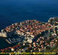 Dubrovnik on the Mediterranean, Croatia