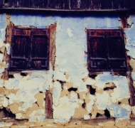Decay in ghost villages, Transylvania